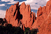 /images/133/2004-05-gardgods-climbers1.jpg - #01490: Red Rocks in Garden of the Gods … May 2004 -- Garden of the Gods, Colorado Springs, Colorado