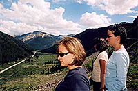 /images/133/2004-06-indep-twin-side3.jpg - #01537: La Plata Peak at 14,336 ft in the background … view from Independence Pass Road towards Twin Lakes … June 2004 -- La Plata Peak, Independence Pass, Colorado