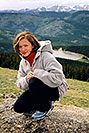 /images/133/2004-06-mt-evans-aneta1.jpg - #01550: Aneta … June 2004 … Mt Evans, Colorado -- Mt Evans, Colorado