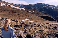 /images/133/2004-06-mtevans-holly03.jpg - #01562: view along Mt Evans road … June 2004 -- Mount Evans Road, Mt Evans, Colorado