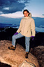 /images/133/2004-06-mtevans-ola-top2.jpg - #01576: Ola at top of Mt Evans … June 2004 -- Mt Evans, Colorado