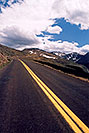 /images/133/2004-06-mtevans-road-cars4.jpg - #01582: view along Mt Evans road … June 2004 -- Mount Evans Road, Mt Evans, Colorado