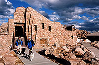/images/133/2004-06-mtevans-top-buildin.jpg - #01592: next to top parking lot of Mt Evans … June 2004 -- Mt Evans, Colorado