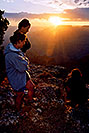 /images/133/2004-07-grand-3-sunset1.jpg - #01693: Aneta, Ewka & Ola … July 2004 -- Navajo Point, Grand Canyon, Arizona