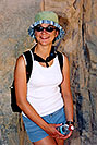 /images/133/2004-07-grand-ewka-standing.jpg - #01709: Ewka along Bright Angel Trail … July 2004 -- Bright Angel Trail, Grand Canyon, Arizona