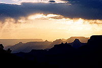 /images/133/2004-07-grand-sunset-view.jpg - #01702: sunset in Grand Canyon … July 2004 -- Navajo Point, Grand Canyon, Arizona
