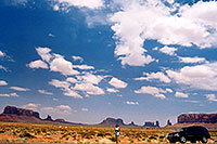 /images/133/2004-07-monvalley-4.jpg - #01746: Ola in Monument Valley … July 2004 -- Monument Valley, Utah