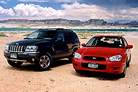 /images/133/2004-07-powell-cars2.jpg - #01754: my Jeep and Aneta