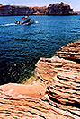 /images/133/2004-07-powell2-boats3.jpg - #01751: boats by Wahweap … Lake Powell … July 2004 -- Wahweap, Lake Powell, Utah