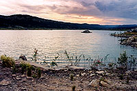 /images/133/2004-07-recapture-evening1.jpg - #01801: evening at Recapture lake … July 2004 -- Recapture, Utah