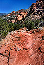 /images/133/2004-07-sedona-trail2.jpg - #01826: path down Sycamore Canyon in Sedona … July 2004 -- Sedona, Arizona