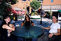 /images/133/2004-08-denver-oksana-table.jpg - #01884: Oksana, Ewka & Ola in Denver … August 2004 -- Denver, Colorado