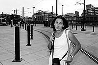 /images/133/2004-08-denver-ola-station.jpg - #01887: Ola at Union Station in Denver … August 2004 -- Denver, Colorado