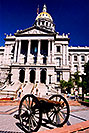 /images/133/2004-08-denver-parliament2-v.jpg - #01857: Canon in front of Parliament Building in Denver … August 2004 -- Denver, Colorado