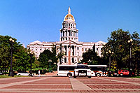 /images/133/2004-08-denver-parliament3.jpg - #01869: Canon in front of Parliament Building in Denver … August 2004 -- Denver, Colorado