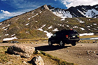 /images/133/2004-08-mt-evans-mtns-jeep.jpg - #01959: my Jeep at Summit Lake … August 2004 -- Mt Evans, Colorado