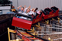 /images/133/2004-08-sixflags-kids1.jpg - #01986: kids at Six Flags in Denver … also Daffy Duck … August 2004 -- Six Flags, Denver, Colorado