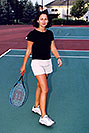 /images/133/2004-08-tennis-ola1.jpg - #02018: Ola playing tennis … August 2004 -- Lakewood, Colorado