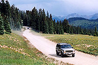 /images/133/2004-08-wolfcreek-car-scenic2.jpg - #02029: Wolf Creek Pass … August 2004 -- Wolf Creek Pass, Colorado