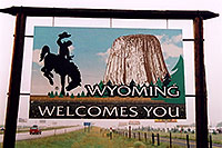 /images/133/2004-08-wyoming-welcome.jpg - #02048: Welcome to Wyoming … August 2004 -- Cheyenne, Wyoming