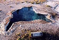 /images/133/2004-08-yello-g-bluestar.jpg - #02049: Blue Star Spring (blue is the hottest temperature) … August 2004 -- Yellowstone, Wyoming