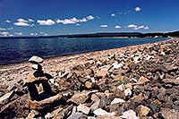 /images/133/2004-08-yello-lake7.jpg - #02107: Yellowstone Lake … August 2004 -- Yellowstone, Wyoming