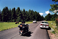 /images/133/2004-08-yello-tourists3.jpg - #02094: First sights of Buffalo … August 2004 -- Yellowstone, Wyoming