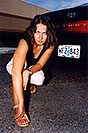 /images/133/2004-09-car-ola5.jpg - #02140: Ola with her black Toyota Camry in Englewood … Sept 2004 -- Englewood, Colorado