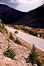 /images/133/2004-09-indep-drive-up02-v.jpg - #02113: road up Independence Pass from Twin Lakes side … Sept 2004 -- Independence Pass, Colorado