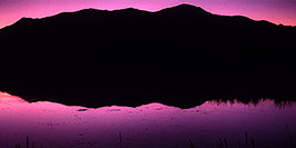 /images/133/2004-09-leadville-shacks-red-pano.jpg - #02167: sunset at shacks near Leadville … Nov 2004 -- Leadville, Colorado