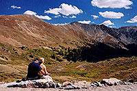/images/133/2004-09-loveland-view7.jpg - #02170: view from parking lot down East Slope … Sept 2004 -- Loveland Pass, Colorado