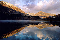 /images/133/2004-10-cb-nicholson1.jpg - #02260: morning at Nicholson Lake … Oct 2004 -- Nicholson Lake, Crested Butte, Colorado
