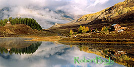 /images/133/2004-10-cb-nicholson3-pano.jpg - #02242: morning at Nicholson Lake (elev 8,913ft) … Oct 2004 -- Nicholson Lake, Crested Butte, Colorado