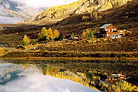 /images/133/2004-10-cb-nicholson4.jpg - #02243: morning at Nicholson Lake (elev 8,913ft) … Oct 2004 -- Nicholson Lake, Crested Butte, Colorado