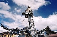 /images/133/2004-10-crested-dragon1.jpg - 02302: Crested Butte dragon … Oct 2004 -- Crested Butte, Colorado