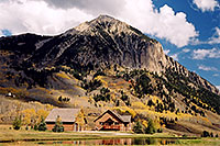 /images/133/2004-10-crested-evening11.jpg - #02311: view of Mount Crested Butte … Oct 2004 -- Crested Butte, Colorado