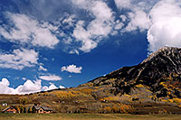 /images/133/2004-10-crested-evening6.jpg - #02316: view of Mount Crested Butte … Oct 2004 -- Crested Butte, Colorado
