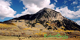 /images/133/2004-10-crested-evening9-pano.jpg - 02317: view of Mount Crested Butte … Oct 2004 -- Crested Butte, Colorado