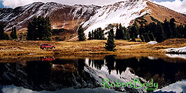 /images/133/2004-10-crested-yule5-pano.jpg - #02368: images of Paradise Divide lake (elev 11,250 ft) … October 2004 -- Paradise Divide Lake, Crested Butte, Colorado