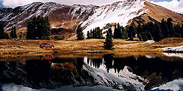 /images/133/2004-10-crested-yule5-w.jpg - #02328: images of Paradise Divide lake (elev 11,250 ft) … October 2004 -- Paradise Divide Lake, Crested Butte, Colorado