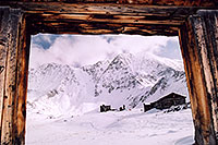 /images/133/2004-11-fremont-lake-hut-frame.jpg - #02414: old Colorado winter … Sept 2004 -- Fremont Pass, Colorado