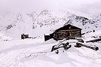 /images/133/2004-11-fremont-lake-hut1.jpg - #02409: Colorado as it was … old Colorado winter … Sept 2004 -- Fremont Pass, Colorado
