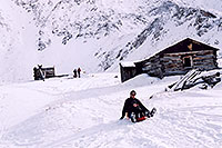 /images/133/2004-11-fremont-lake-hut3.jpg - #02417: winter near Fremont Pass … Sept 2004 -- Fremont Pass, Colorado