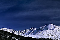 /images/133/2004-11-fremont-lake-mtn2.jpg - #02400: Mountains over Clinton Gulch … November 2004 -- Fremont Pass, Colorado