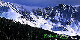 /images/133/2004-11-fremont-lake-mtn4-pano.jpg - #02421: Mountains over Clinton Gulch … November 2004 -- Fremont Pass, Colorado