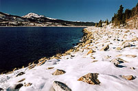 /images/133/2005-01-twin-lakes-lake3-1.jpg - #02450: Mt Elbert Forebay, elevation 9,645 ft … Jan 2005 -- Mt Elbert Forebay, Twin Lakes, Colorado