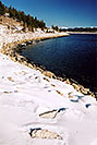 /images/133/2005-01-twin-lakes-lake3-3f.jpg - #02453: Mt Elbert Forebay (mirror image), elevation 9,645 ft … Jan 2005 -- Mt Elbert Forebay, Twin Lakes, Colorado