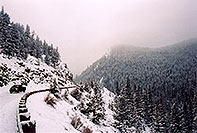 /images/133/2005-02-evans-winding-road.jpg - #02463: road before Mt Evans … Feb 2005 -- Mt Evans, Colorado