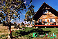 /images/133/2005-03-durango-log-house.jpg - #02506: Log house … March 2005 -- Durango, Colorado