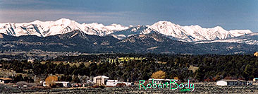 /images/133/2005-03-durango-view.jpg - #02517: Durango from (east) Wolf Creek side … March 2005 -- Durango, Colorado